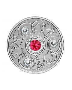 2020 加拿大诞生石 :七月 .9999 精铸银币7.96 克