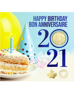 2021加拿大$1生日钱币礼品套装