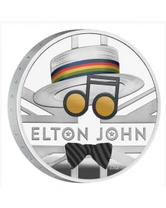2020 英国艾顿庄 约翰 .999 精铸银币1盎司