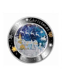 2020 纽埃 快乐的圣诞节 .999精制银币17.5克