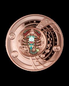 2021 喀麦隆 神奇的星座-天蝎座 .999银币